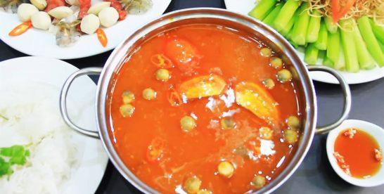 Hướng dẫn cách nấu lẩu tomyum ngon như ở Thái Lan