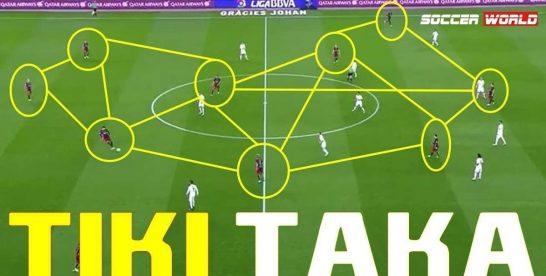 Tiki – taca là gì? Lối chơi đặc biệt của Tiki-Taca đối với đội bóng