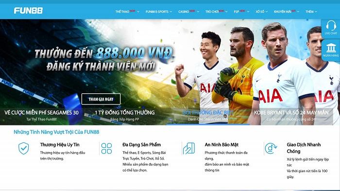 Fun88-VN là địa chỉ cá cược bóng đá đáng tin cậy nhất hiện nay